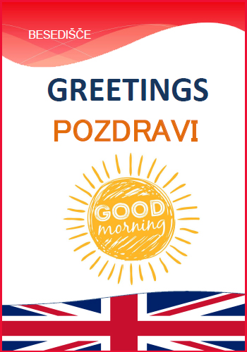 GREETINGS - Pozdravi