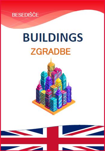 BUILDINGS IN TOWN AND DIRECTIONS – Zgradbe v mestu in smeri