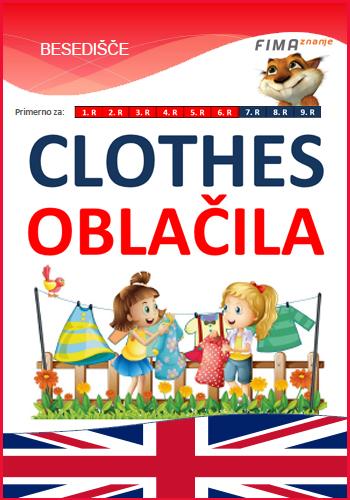 CLOTHES - Oblačila