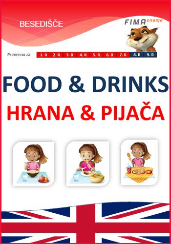 FOOD AND DRINKS - Hrana in pijača