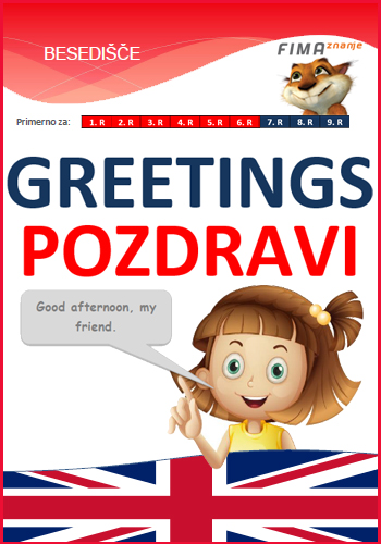 GREETINGS - Pozdravi