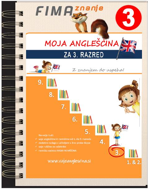 Vaje angleščine za 3. razred (PDF)