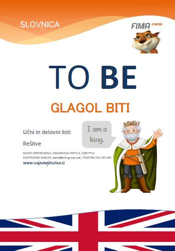 VERB TO BE – Glagol biti