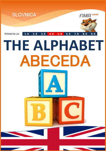 The alphabet (abc) - Abeceda