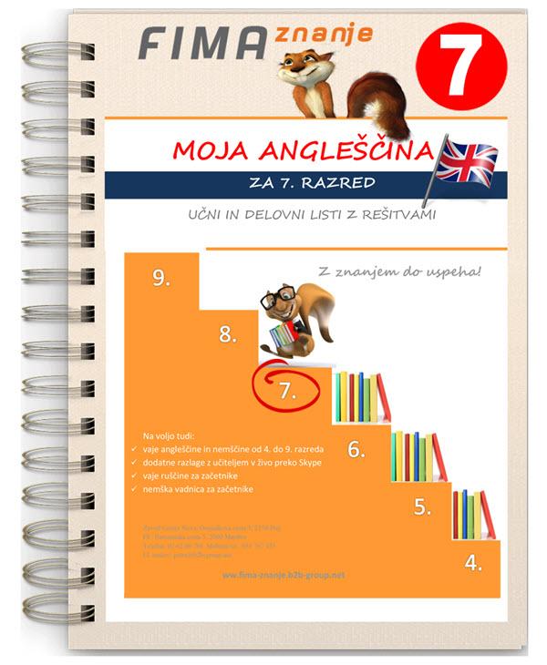 Vaje angleščine za 7. razred (PDF)